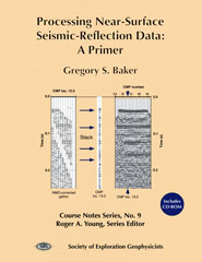 Processing Near-Surface Seismic-Reflection Data